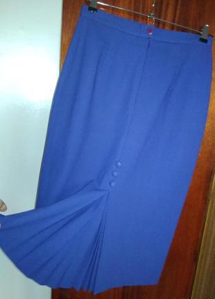 Супер юбка  цвета фиалки винтаж аннлия