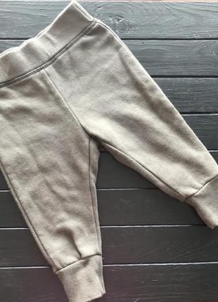 Спортивные брюки штаны на мальчика цвета хаки h&m