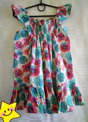 Сарафан платье 4-5 лет