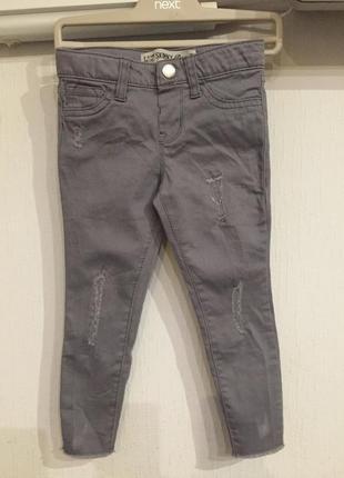 Стильные джинсики скинни для модницы
