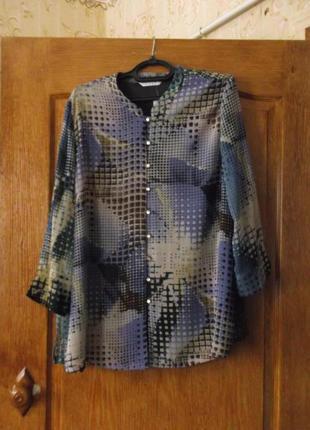 Блузка ,рубашка 54-56р