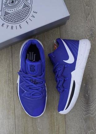 Баскетбольные кроссовки nike kyrie 5 синие