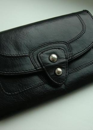Німецький фірмовий шкіряний гаманець next
