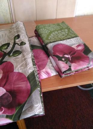 Красивый комплект постельного белья! описание,замеры,комплектация