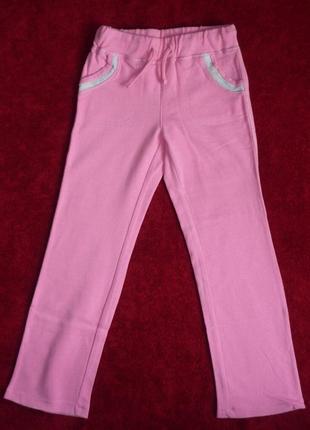Брюки chicco, р.110 - 5 лет для девочки. новые спортивные штаны