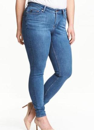 Оригинальные джинсы-shaping skinny jeans от бренда h&m разм. 44