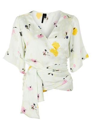 Вискозная блуза topshop 48-50 размер