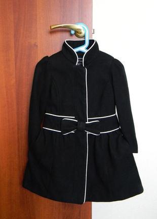 Строгое пальто от некст на 3-4 годика