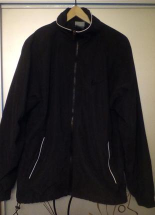 Куртка,ветровка nike , черного цвета,индонезия,р. l ,оригинал