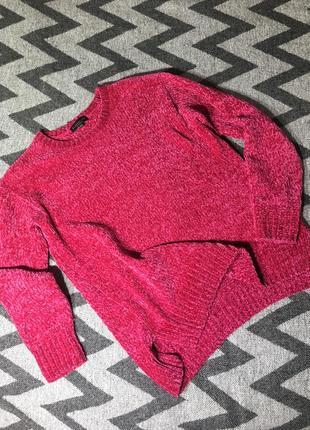 Очень красивые велюровый свитер