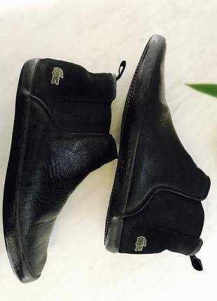 Lacoste ботинки на осень, весну, демисезон оригинал