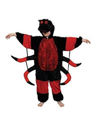 Карнавальный костюм паук паучек вампир 5-6 лет на хэллоуин1