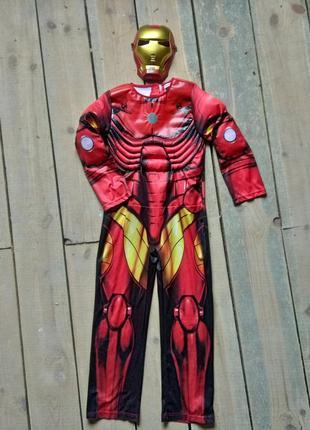 Карнавальный костюм железный человек айронмен 9-10 лет1