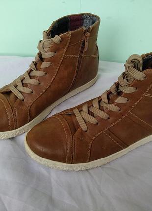 """Ботинки """"jane klain"""" р.38-39 демисезон, женские высокие кроссовки6"""
