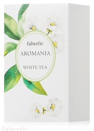 Туалетная вода для женщин aromania white tea  faberlic3042 фаберлик