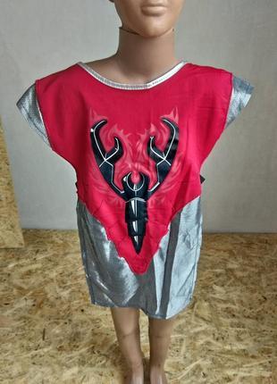 Карнавальный костюм рыцарь скорпион лего универсальный размер8