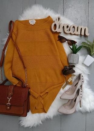 Актуальный яркий свитер джемпер №146