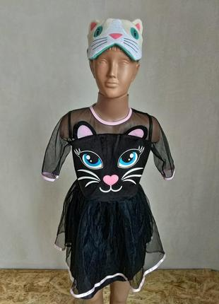 Карнавальный костюм кошка кошечка 4-6 лет6