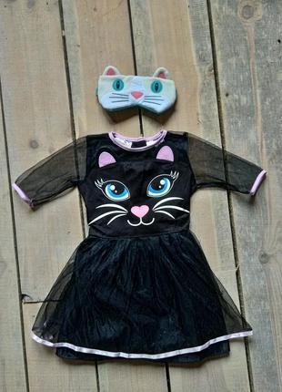 Карнавальный костюм кошка кошечка 4-6 лет1