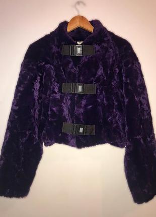 Нереально крутая искусственная шуба, куртка