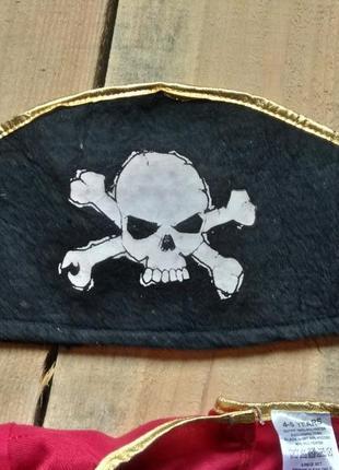 Карнавальный костюм пират 1-2 года зомби6