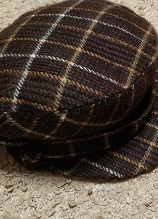 Calliope стильная кепка в клеточку