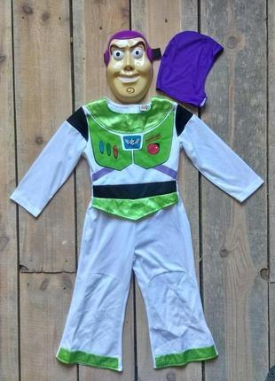Карнавальный костюм базз лайтер светик 3-4 года м/ф история игрушек2