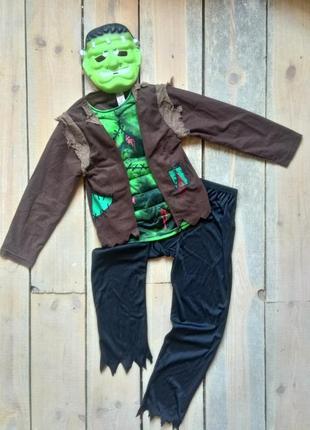 Карнавальный костюм пирата франкенштейна зомби 9-10 лет1