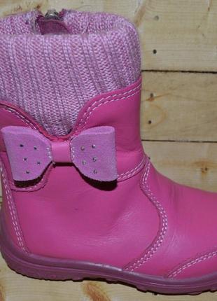 Демисезонные ботиночки котофей для девочек