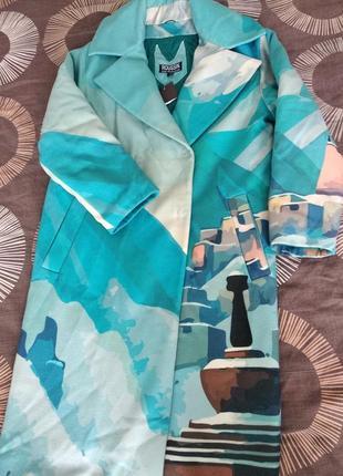 Тёплое пальто от украинского дизайнера.