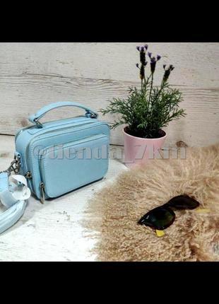 Стильная сумка через плечо (клатч) david jones cm3966 голубой