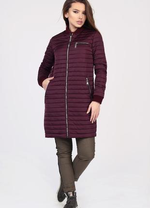 Стеганная женская куртка на весну