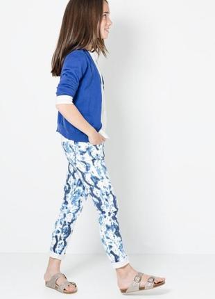 Мега крутые джинсы от mango на 5-6 лет