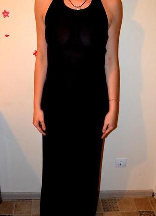Платье в пол mondo donna вечерне платье с интересной спинкой