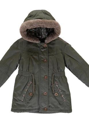 Демі куртка-парка george1 фото