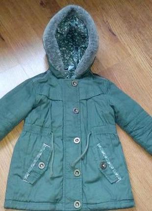 Демі куртка-парка george3 фото