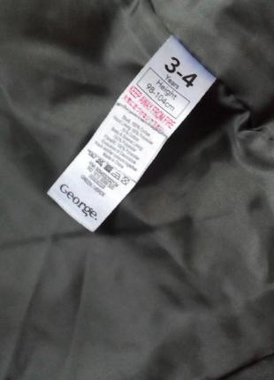 Демі куртка-парка george5 фото