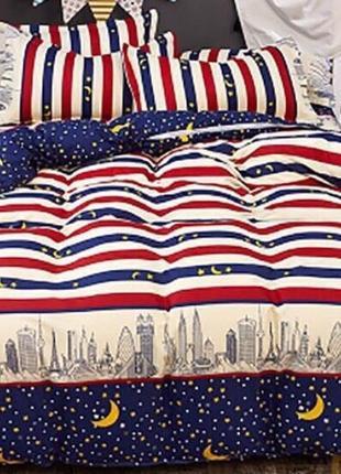 Стильное постельное белье, разные комплекты