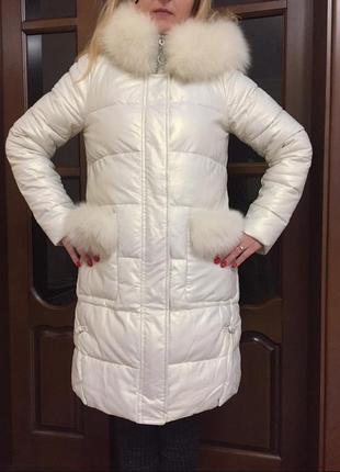 Пуховик куртка zilanliya пальто зимнее,состояние нового