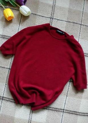 Кашемировый свитер с коротким рукавом jjb bencon