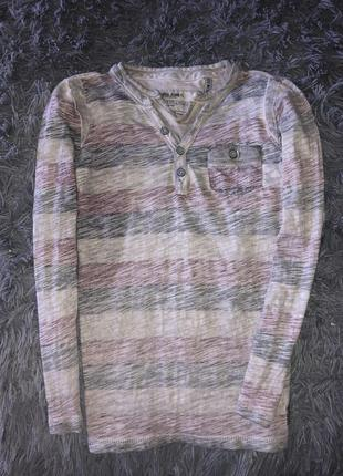 Прикольная/стиль потертости реглан garcia jeans