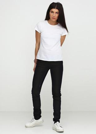 Темные зауженные джинсы gas.