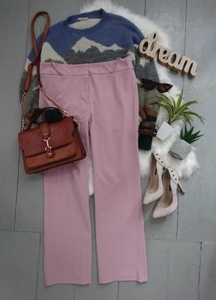 Актуальные прямые брюки №345