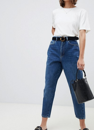 Женские  винтажные джинсы мом  от midiostudio. размер 5, будут на м- л.
