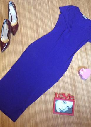Платье футляр, миди, размер l , маломерит