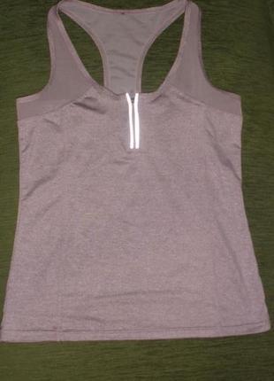 Удобная спортивная майка футболка для фитнеса atmosphere workout /англ 14