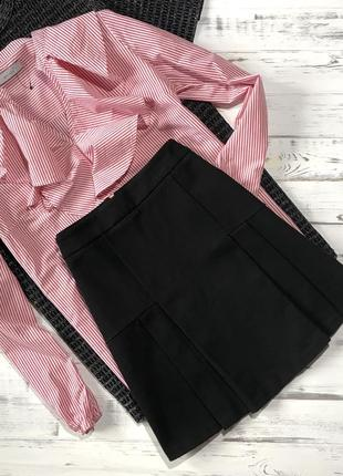 Чёрная базовая юбка tommy hilfiger