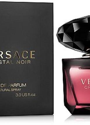 Духи талетная вода versace crystal noir 90 ml