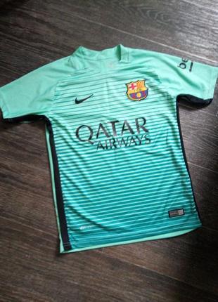 Nike спортивная футболка для юного футболиста на 10-12 лет рост 152см
