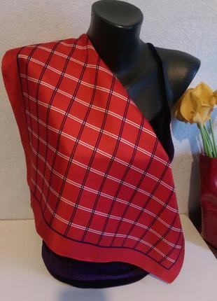 Натуральный шелк,платок шейный,на сумку,erwin muller,52*54